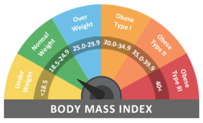 kroppsmasseindex-diagram